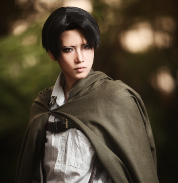 Reika, Top Cosplayer from Japan as Levi