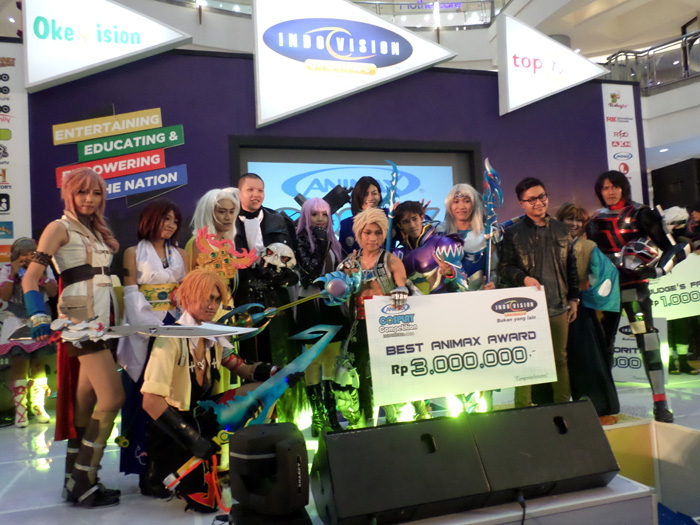Winner Animax cosplay competition Indonesia 2014